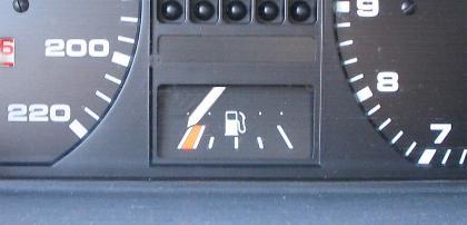 Tankuhr von Golf Bj.88: Der fährt noch ... !