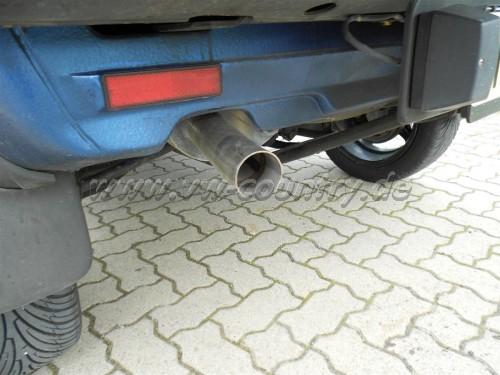 VW Golf Country Auspuff