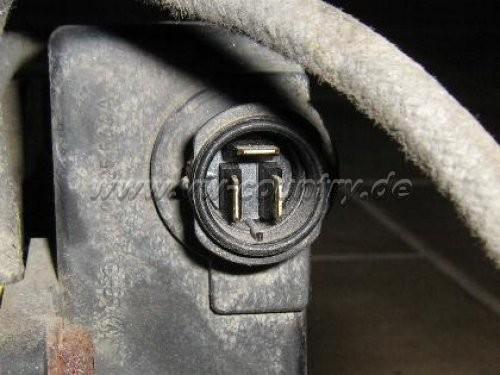 Differental hinten / Steckverbinder für den Freilauf