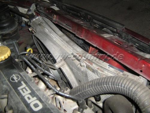 Opel Astra F / 'mal eine andere Baustelle ...