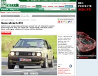 Autobild Generation Golf II