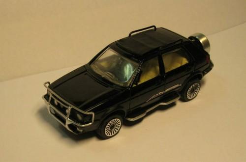 VW Golf Country im Modell
