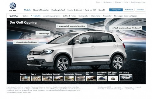 VW Golf Country 2013