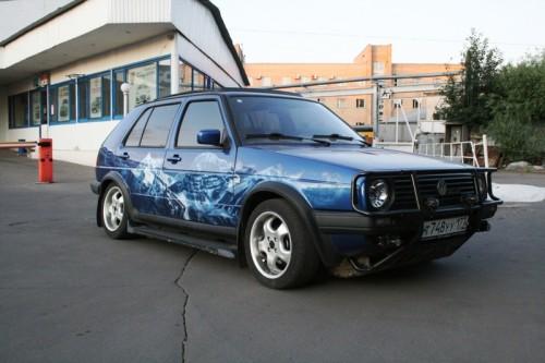 VW Golf Country mit AIRRIDE Fahrwerk