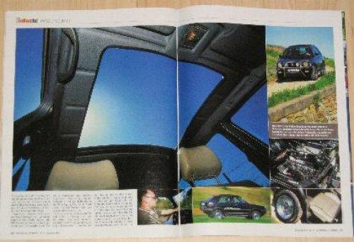 VW Golf Country in der Zeitschrift Auto BILD alles allrad 09/2005