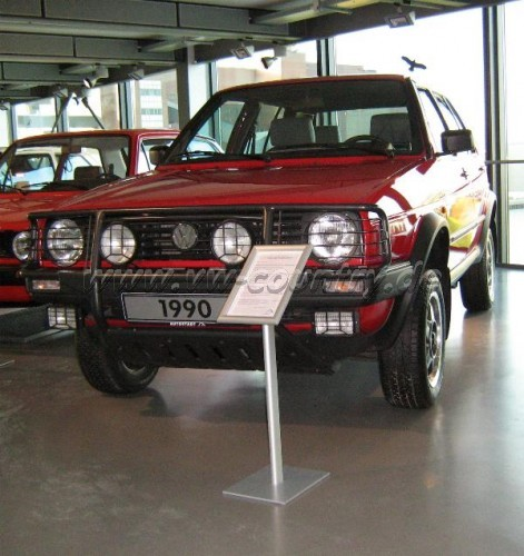 VW Golf Country in der Autostadt in Wolfsburg (2)