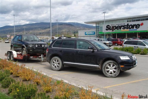 VW Golf Country in Canada