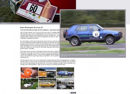 Volkswagen Classic kam mit einem Golf II Country in die Top Ten