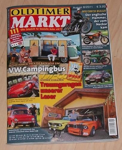 VW Golf Country in Oldtimer Markt 08/2011