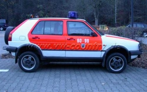 VW Golf Country der Freiwilligen Feuerwehr Bad Harzburg