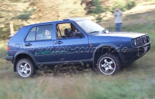 VW Golf Country 16V