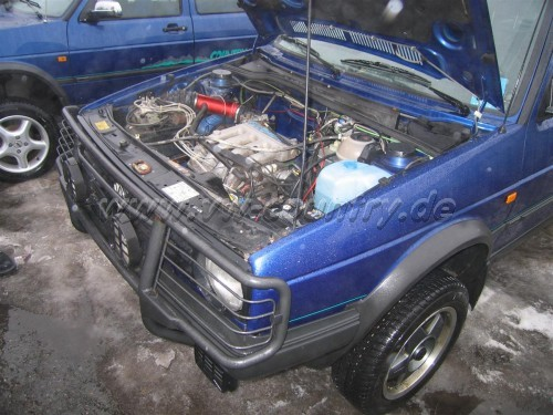 VW Golf Country 16V