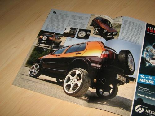 VW Golf Country VR6 in der VW Scene 04/2008