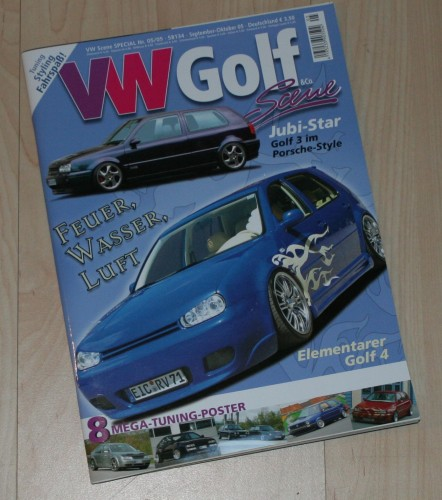 VW Golf Country in VW Scene Special Sept.-Okt. 2005